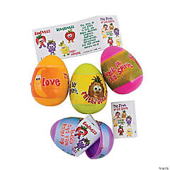 Fruit of the Spirit Scripture-Filled Plastic Easter Eggs