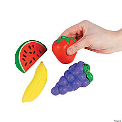 Fruit-Shaped Stress Toys