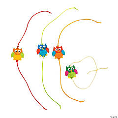 Fun Owl Friendship Bracelets