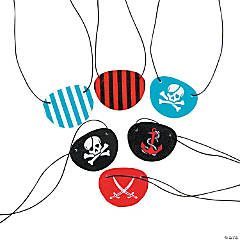 Fun Pattern Pirate Eyepatches