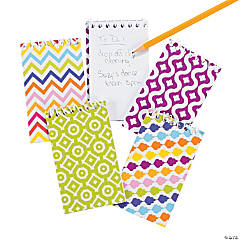 Fun Print Spiral Notepads