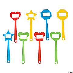 Fun Shape Word & Number Swatters