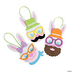 Funny Bunny Ornament Craft Kit