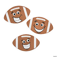 Funny Face Football Magnet Craft Kit