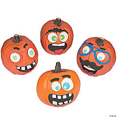 Funny Face Pumpkin Decorating Craft Kit