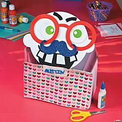 Funny Face Valentine Box Idea