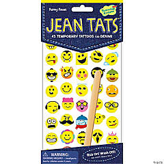 Funny Faces Jean Tats Pack