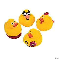 Funny Gag Rubber Duckies