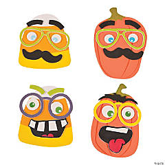 Funny Halloween Face Magnet Craft Kit