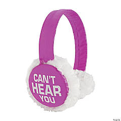 Funny Saying Earmuffs