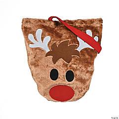 Furry Reindeer Tote
