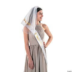 Future Mrs. Headband Veil & Sash Kit