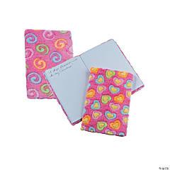 Fuzzy Valentine Notepads