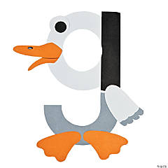 """G Is For Goose"" Letter G Craft Kit"