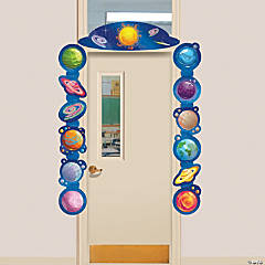 Galaxy Door Border