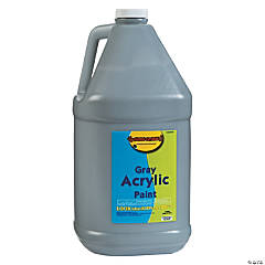 Gallon Acrylic Paint - Gray