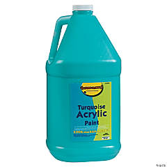 Gallon Acrylic Paint - Turquoise