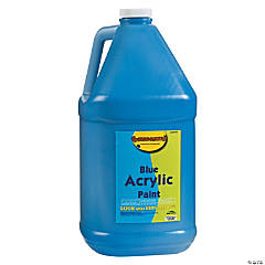 Gallon Acrylic Paints - Blue