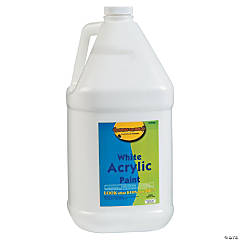 Gallon Acrylic Paints - White