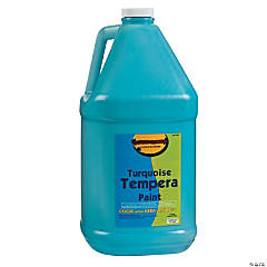 Gallon Tempera Paint - Turquoise