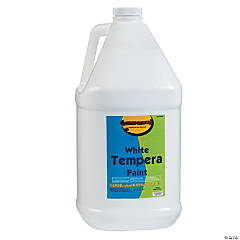 Gallon Tempera Paint - White