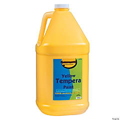 Gallon Tempera Paint - Yellow