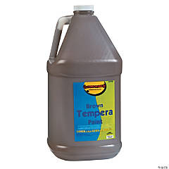 Gallon Tempera Paints - Brown
