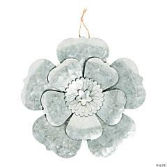Galvanized Metal Flower