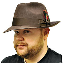 Gangster Hat Brown