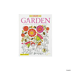 Garden Adventure Adult Coloring Book