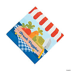 Garden Birthday Party Luncheon Napkins