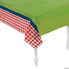 Garden Birthday Party Plastic Tablecloth