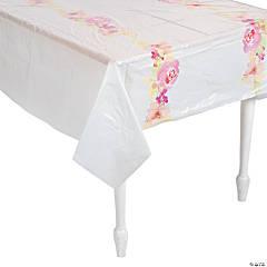 Garden Party Plastic Tablecloth