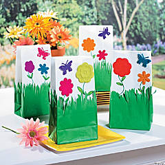 Garden Treat Bags Idea