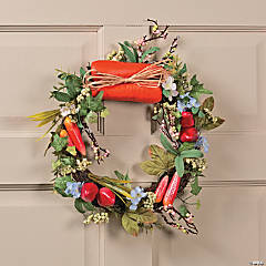 Garden Vegetable Wreath
