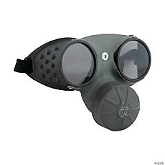 Gas Mask with Glasses