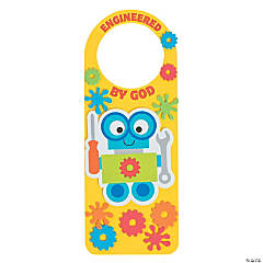 Geared Up for God VBS Doorknob Hanger Craft Kit