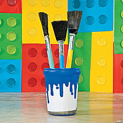 Geared Up for God VBS Oversized Paintbrush Prop Idea
