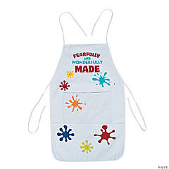 Geared Up for God VBS Paint Splatter Aprons