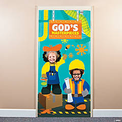Geared Up for God VBS Photo Door Banner