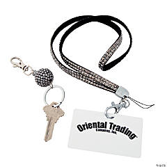 Gem Lanyard with Badge Holder