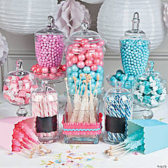 Gender Reveal Candy Buffet Idea