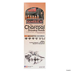 General's Charcoal Drawing Pencils Set