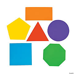 Geometric Shape Bulletin Board Cutouts