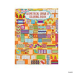 Geometrical Design 2 Adult Coloring Book