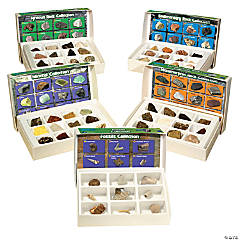 GeoSafari® Complete Rock, Mineral, & Fossil Collections, Set of 57