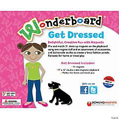 Get Dressed Wonderboard Set