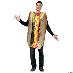 Get Real Loaded Hot Dog Costume for Adults