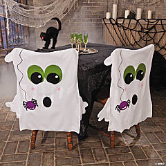Ghost Chair Covers Halloween Décor