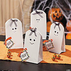 Ghost Treat Bags Idea